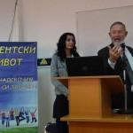 """Лекция на професор Кархарт в зала 11 на ВВМУ""""Н.Й.Вапцаров"""" Варна"""