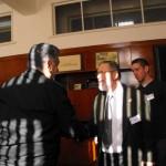 "Среща на професор Кархарт с Началника на ВВМУ""Н.Й.Вапцаров"" Варна капитан I ранг професор д.в.н. инж. Медникаров"